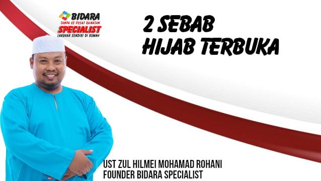 hijab terbuka